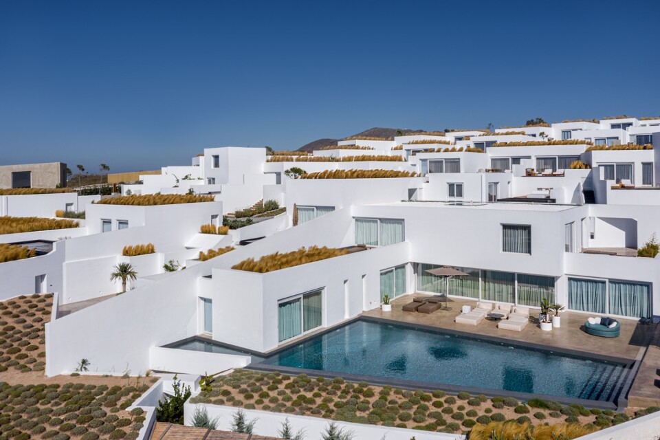 Stay at Oia Santorini luxury villa with private pool at Andronis Arcadia