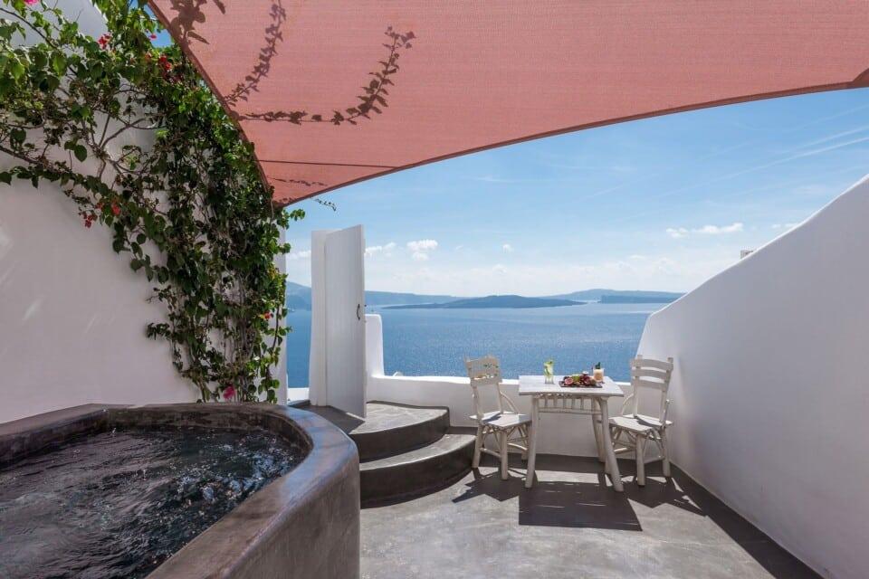 Classic Suite's terrace