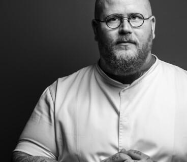 Chef Eric Vildgaard's portrait